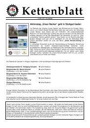 2011-06-19 Extrablatt - Naturfreunde Radgruppe Stuttgart