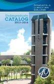PCC Catalog 2013-2014 - Pensacola Christian College - Page 3