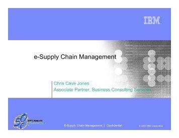 e-Supply Chain Management - Supply-Chain.Org - Supply Chain ...
