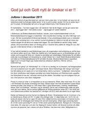 Rektors brev - Sollentuna kommun