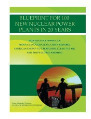 blueprint for 100 new nuclear power plants in 20 years - US Nuclear ...