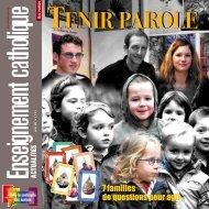 Tenir parole - ECA - Enseignement catholique actualites