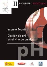 Informe Técnico Gestión de pH en el vino de calidad
