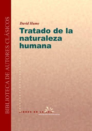 David Hume - Tratado de la Naturaleza Humana