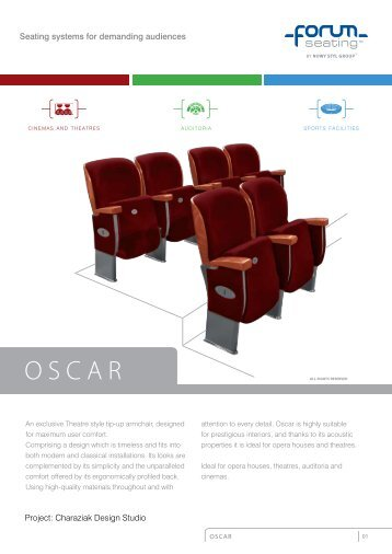 Project: charaziak Design studio Seating systems for ... - Projectista.pt