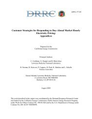 Appendix PDF - Electricity Market and Policy - Lawrence Berkeley ...