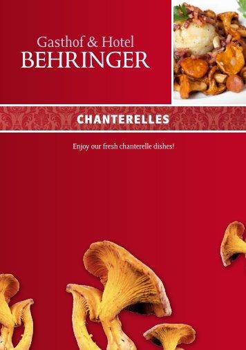 download as PDF - Hotel Restaurant Behringer
