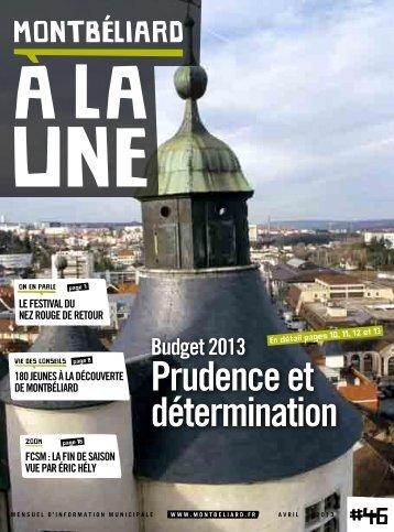 Avril 2013 - Montbéliard
