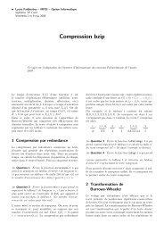Compression bzip