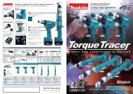 pdf leaflet / 1096kb - Makita