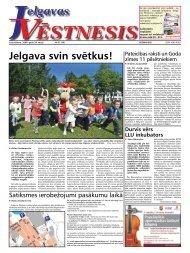 2008.gada 29. maijs. Nr.22(54) - Jelgavas Vēstnesis