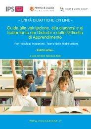 Guida alla valutazione, alla diagnosi e al trattamento ... - Educazione.it