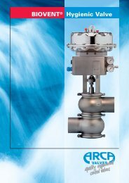 BIOVENT® Hygienic Valve - Cross Technical Services