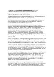 Download projektbeskrivelsen - Viden om Læsning