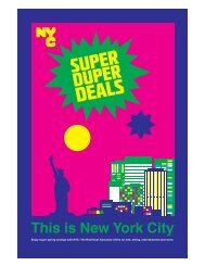 Enjoy super spring savings with NYC: The Real Deal ... - NYCgo.com