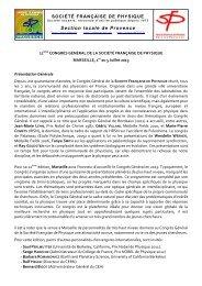 Télécharger le programme (pdf) - UdPPC - Union des Professeurs ...