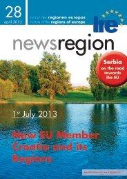 New EU Member Croatia and its Regions Serbia on the ... - Institut IRE
