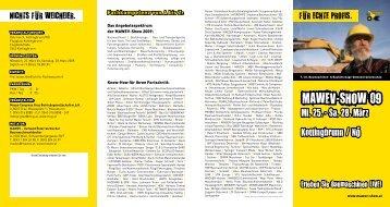 Besucher-Folder (PDF - MAWEV-Show 2012