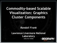 Commodity-based Scalable Visualization - Computation - Lawrence ...