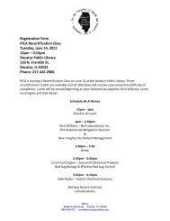 Registration Form IPCA Recertification Class Tuesday, June 14 ...