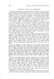 A NOTE ON HABITAT AND GEOGRAPHY Based ... - Yale University