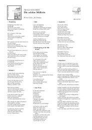 Die schöne Müllerin - Harmonia Mundi
