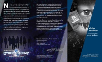 Cyber Academy - Northrop Grumman Corporation