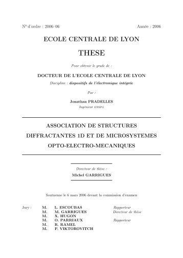 ECOLE CENTRALE DE LYON - Bibliothèque Ecole Centrale Lyon