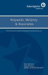 A financial advisory practice of Ameriprise Financial Services, Inc.