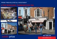 4 the borough, farnham gu9 7na - Smith Price