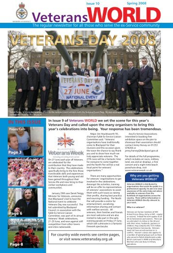 IN THIS ISSUE - Veterans Agency