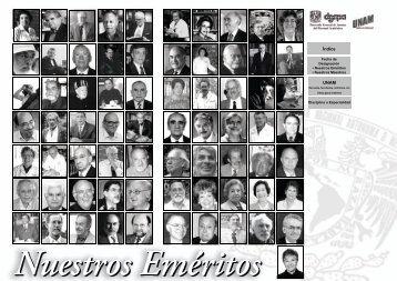 Nuestros Eméritos - dgapa unam - Universidad Nacional Autónoma ...