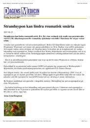 Dagens Medicin: Strandnypon kan lindra ... - Hyben Vital ApS