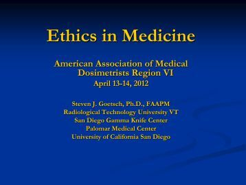 Subject 14: Publication Practices - American Association of Medical ...