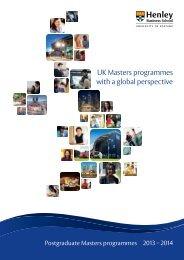 brochure - Henley Business School
