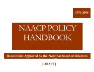 1976-2006 Resolutions Approved by the National Board of Directors ...
