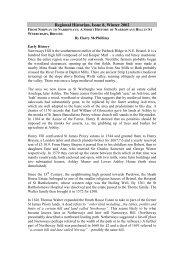 From Norway to Narroways: A Short History of Narroways Hill in St ...