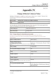 Appendix 3Y Change of Director's Interest Notice - IAG