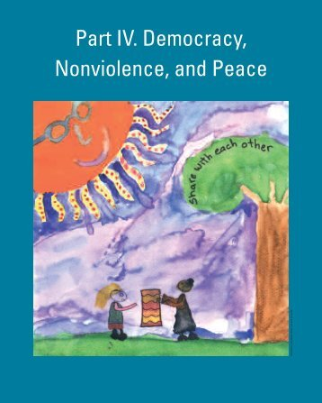 Part IV. Democracy, Nonviolence, and Peace - Earth Charter Initiative