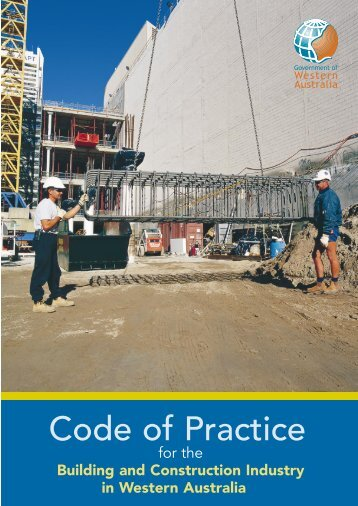 Code of Practice for the Building and Construction Industry of ...