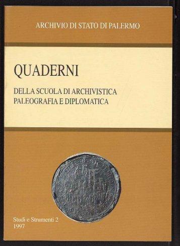 PDF Quaderno 2.pdf - Archivio di Stato di Palermo