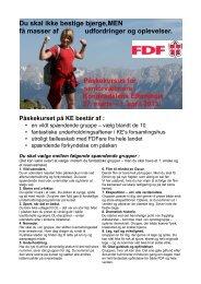 Se invitationen her - Leder - FDF