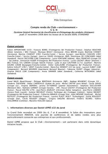 Jean-Pierre JOURLAIT (Christian Dalloz Sunoptics) - CCI du Jura