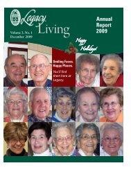 December 2009 - Legacy