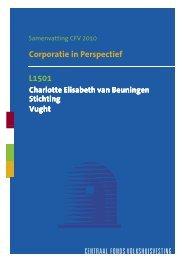 L1501 Corporatie In Perspectief Samenvatting 2010