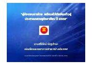 ผู้ประกอบการไทย ปี 2558 - FTA