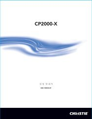 CP2000-X - Christie Digital Systems
