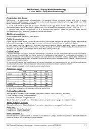 BNP Paribas L1 Equity World Biotechnology