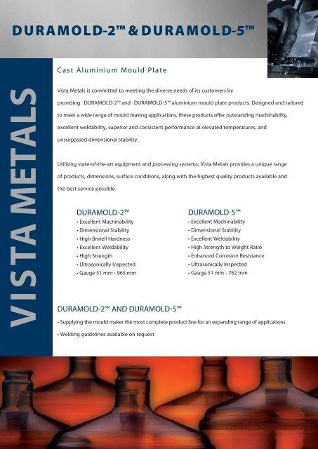 DURAMOLD-2™ & DURAMOLD-5™ - Calm Aluminium