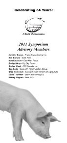2011 brochure & program - SaskPork - Page 3